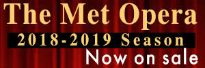 MET Opera Season announcemnet